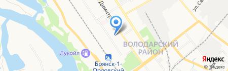 Аквариум на карте Брянска