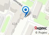 Фокинский межрайонный следственный отдел г. Брянска на карте