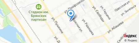 Детская школа искусств №3 им. Г.В. Свиридова на карте Брянска