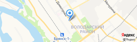 Джет Мани Микрофинанс на карте Брянска