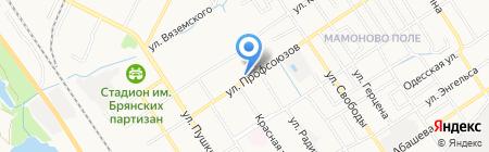 Магазин одежды на карте Брянска