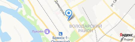Папина радость на карте Брянска