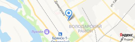 Элит посуда на карте Брянска