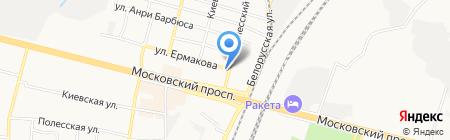Малахит на карте Брянска