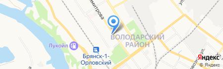 Саморезик.ru на карте Брянска