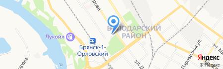 Администрация Володарского района на карте Брянска