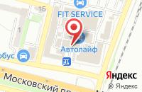 Схема проезда до компании Альманах в Брянске