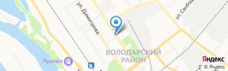 Белорусская обувь на карте Брянска