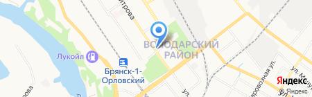 Магазин пряжи и товаров для рукоделия на карте Брянска