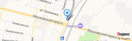 Автозапчасти Daewoo Lanos на карте Брянска