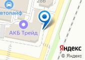 Магазин автозапчастей и аккумуляторов на карте