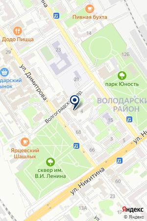 ДОПОЛНИТЕЛЬНЫЙ ОФИС № 0133 БРЯНСКОЕ ОТДЕЛЕНИЕ № 8605 СБЕРБАНК РОССИИ на карте Брянска