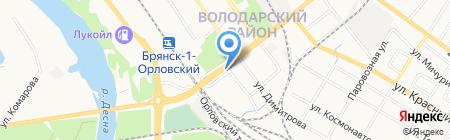 Управление по делам ГО и защиты населения от ЧС по Володарскому району на карте Брянска