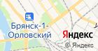 Профсоюзная организация работников народного образования и науки РФ Володарского района г. Брянска на карте