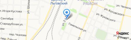 Банк ВТБ 24 на карте Брянска