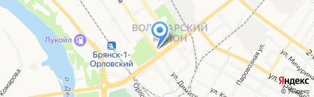 ТРАКТИРЪ на карте Брянска