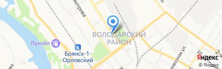 Библиотека №2 им. А.С. Пушкина на карте Брянска