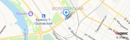 Мобильная компания на карте Брянска
