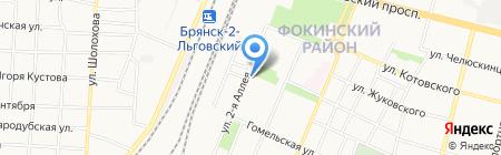 Кронос на карте Брянска