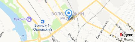 Банкомат Хоум Кредит энд Финанс Банк на карте Брянска