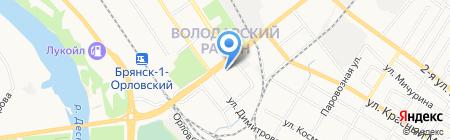 Отдел социальной защиты населения Департамент семьи на карте Брянска