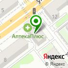 Местоположение компании Ателье по ремонту и пошиву одежды на ул. Пушкина