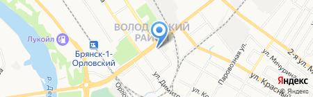 Ателье по ремонту и пошиву одежды на ул. Пушкина на карте Брянска