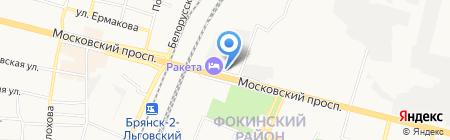 ЖКХ Фокинского района на карте Брянска