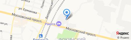 Веснушка на карте Брянска