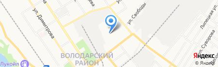 Детский сад №135 на карте Брянска