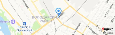 Ростехинвентаризация-Федеральное БТИ на карте Брянска