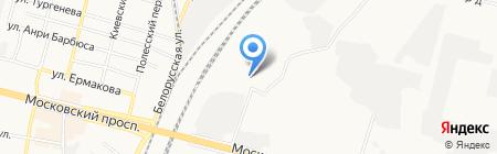 Оптовая компания на карте Брянска