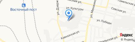ЛидерТрансАвто на карте Брянска
