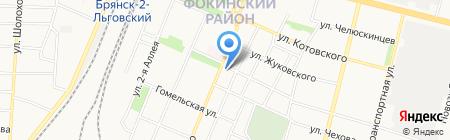 Городские окна на карте Брянска
