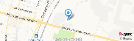 Брянскоблэлектро на карте Брянска
