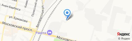 Строитель на карте Брянска