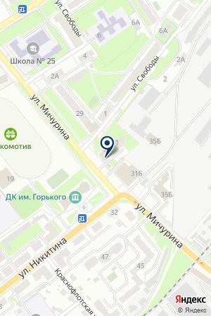 БРЯНСК-ТЭН на карте Брянска