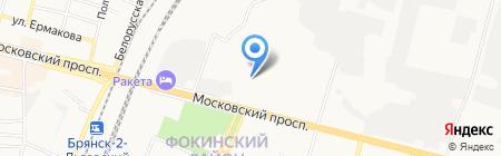 АйКрафт Оптика на карте Брянска