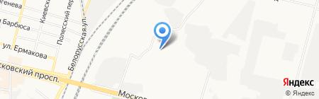 Белкон-С на карте Брянска