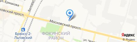 Паркет проффи на карте Брянска