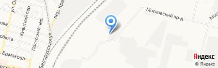 Алина-плюс на карте Брянска