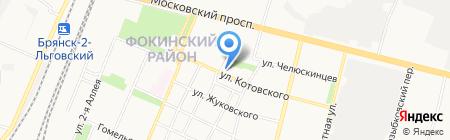 Сударушка на карте Брянска