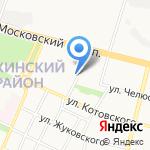 РОСНО-МС на карте Брянска