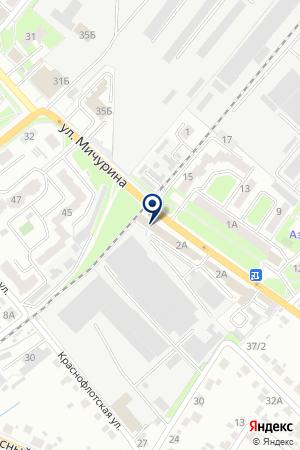 АПТЕКА ВИТАМИНКА на карте Брянска