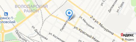 ЛимуZин на карте Брянска