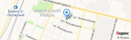Стиль на карте Брянска