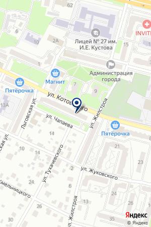 АПТЕКА АЗОН на карте Брянска