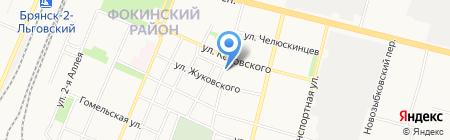 Л`Дентал на карте Брянска