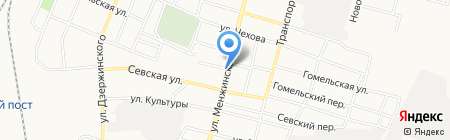 Эко маркет на карте Брянска