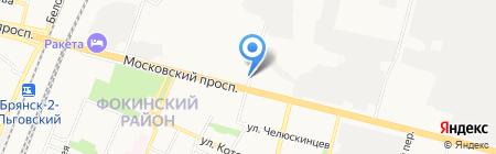 Свежий хлеб на карте Брянска
